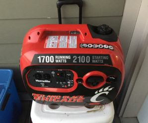 Product Review – Homelite UTI2100R 2100 Watt Generator